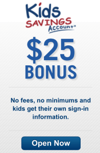 Get $25 when you sign up for a Capital 360 Kids Savings account