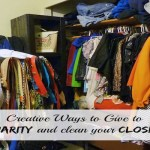 Use Your Closet to Give to Charity