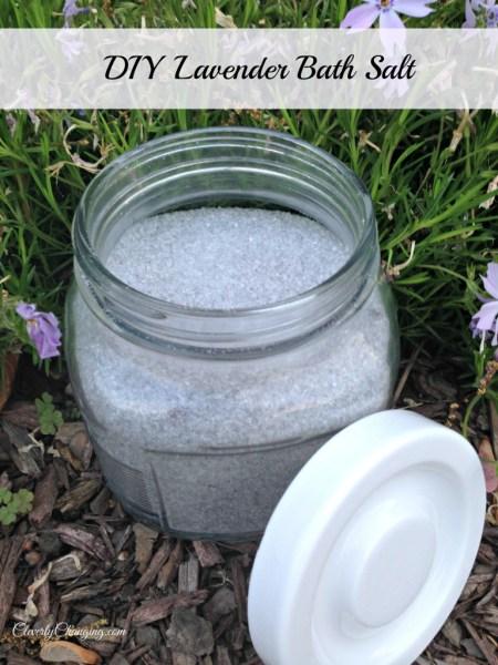 DIY Lavender Bath Salt Recipe