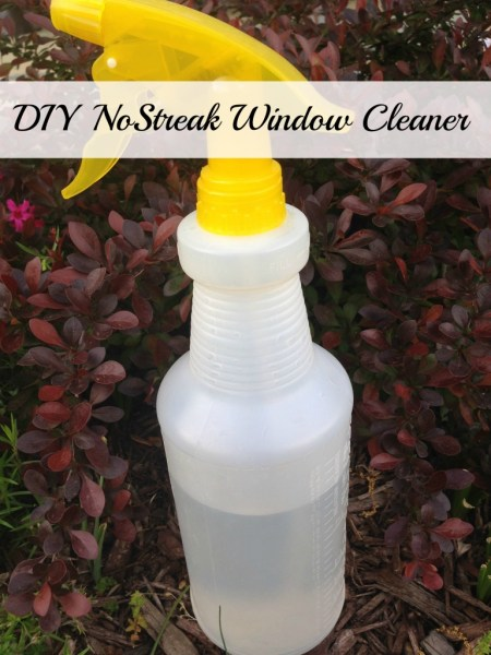 No Streak Window Cleaner