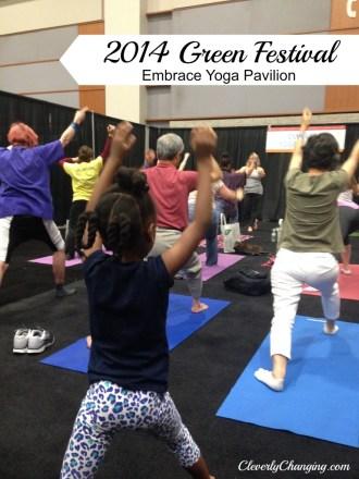Embrace Yoga Pavilion, 2014 DC Green Festival