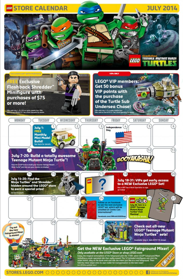 Lego Monthly Mini Build June