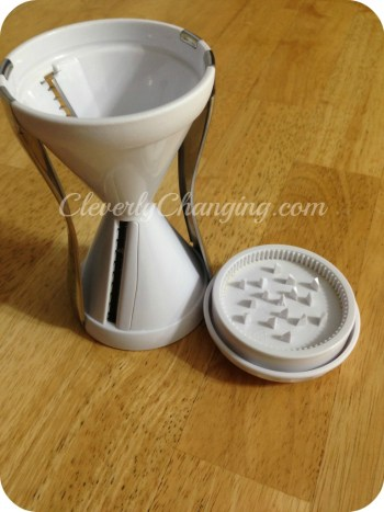 Enter to win a Vegetti vegetable cutter on CleverlyChanging.com Contest ends 8/6/14