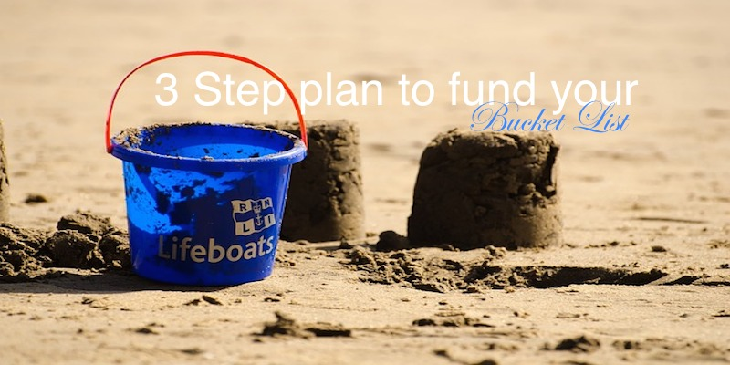 Fund Your Bucket List With this 3 Step Plan #suntrustbucketlist #money #finance #savings