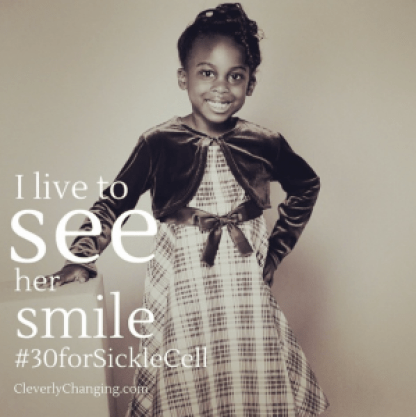 #30forSickleCell Living with SCD