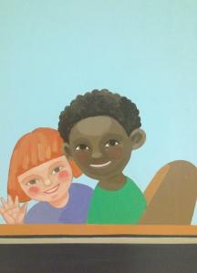 St Jude Children's Hospital Murals