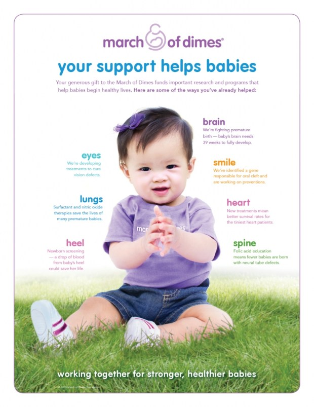 March of Dimes - Where Your Money Goes via @CleverlyChangin #donate #charity #GivingTuesday