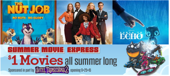 Summer Movie for Kids: Low Cost or Free 2015 Summer Activities