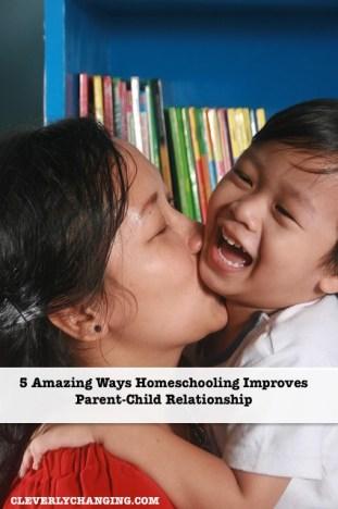 Homeschooling can improve Parent-Child relationships via @CleverlyChangin #homeschool #homeschooling
