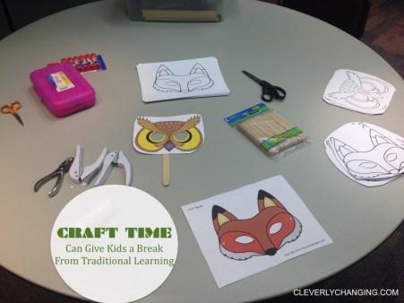 Craft time break