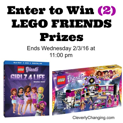 Lego Friends DVD and Set Giveaway