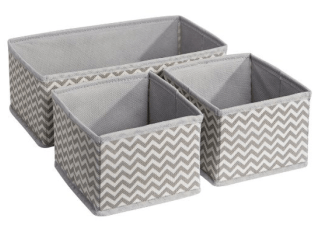 Fabric box organizer Image from Amazon {aff}