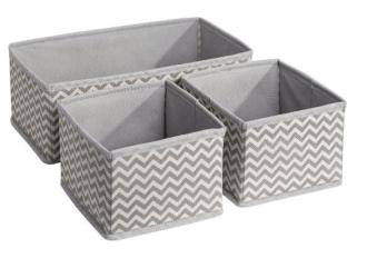 Fabric box organizer Image from Amazon {aff}