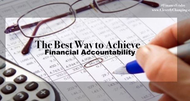 Financial Accountability Checklist #financefriday via @CleverlyChangin