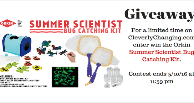 The Orkin Summer Scientist Bug Catching Kit #Giveaway