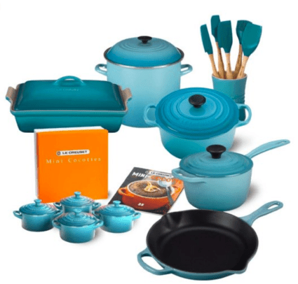 Buying smart kitchen Le Creuset cookware set