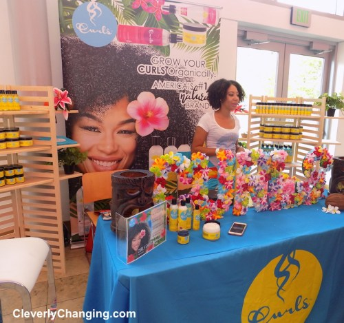 Curls - Vendors at the Natural Hair Show