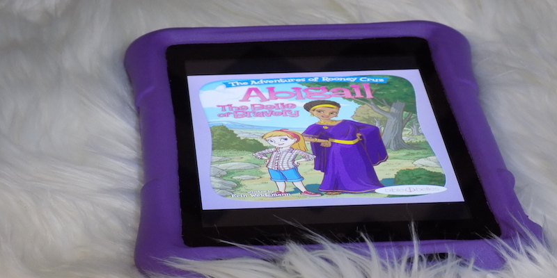 Kid's Book Review - Abigail-the-belle-of-bravery
