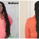 New Loc Style: French Braid and Barrel Roll