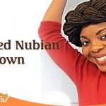 Loc Styles: Braided Nubian Loc Crown