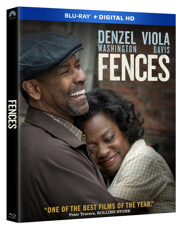 Fences Movie Blu-ray box