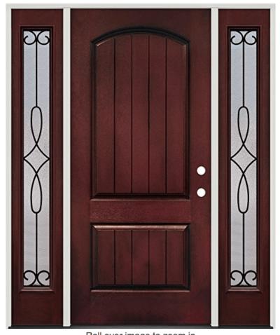 Prehung Steel Door sold on Amazon