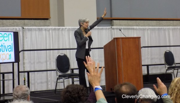 Dr. Jill Stein at the DC Green Festival 2017