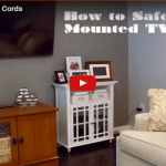 How to Safely Hide Mounted TV Cables