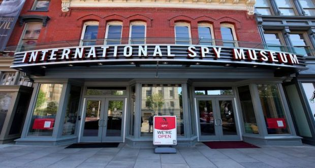 Learn more about the International Spy Museum from our recent visit