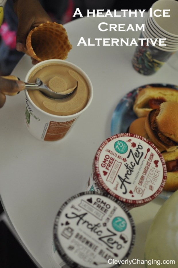 Arctic Zero a healthy ice cream alternative