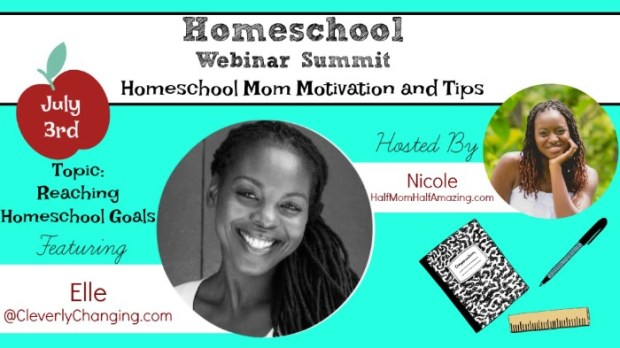 Elle from CleverlyChanging Homeschool Webinar Summit_Day 2