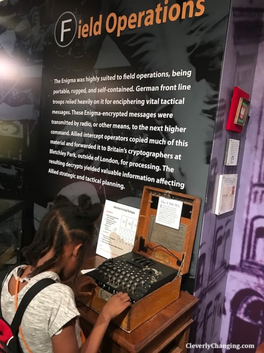 Cryptologic Museum in Baltimore, MD
