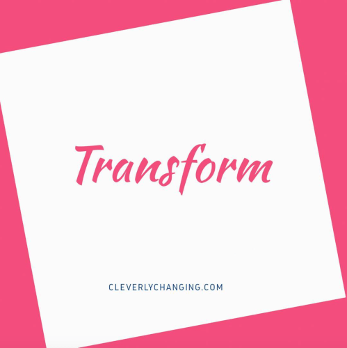 Word for 2018: transform your perspective