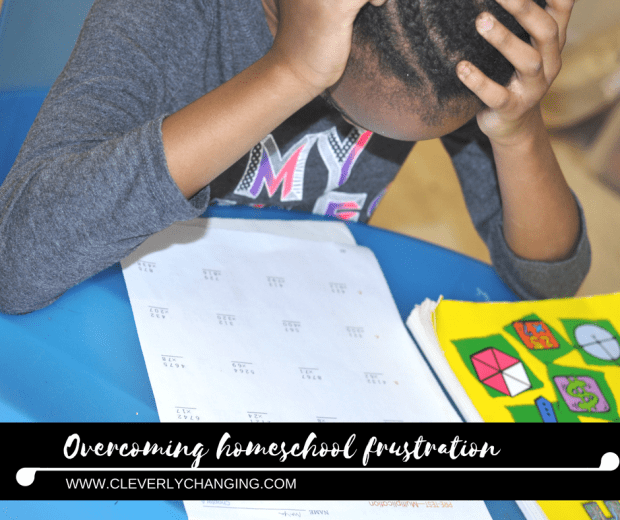 What to Do When Homeschoolers Get Frustrated, and You Do Too