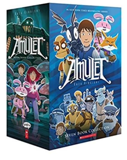 Amulet Book Series for kids Sci Fi