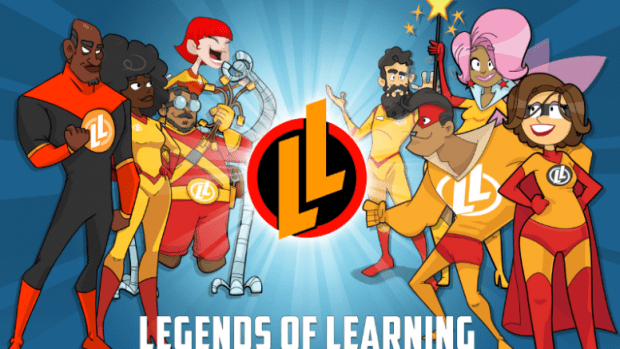 Legends of Learning Educational Game Logo