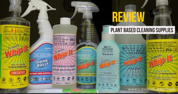 Review of The Amazing Whip it Plant Based Cleaning Supplies