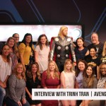 Executive Producer Trinh Tran and Madame Tussaud's of Hollywood #InfinityWarBluray #DisneyPartner
