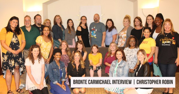 Bronte Carmichael Interview she played Madeline Robin in the Christopher Robin Movie