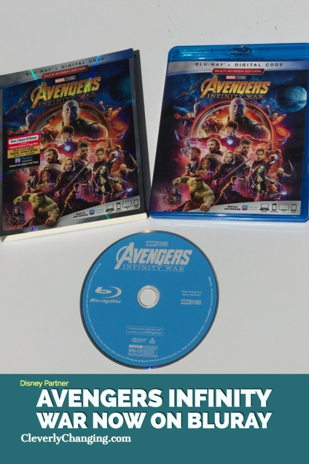 Infinity War Now On Bluray