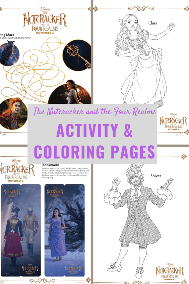 The Nutcracker and the Four Realms Activity and Coloring Pages(1)