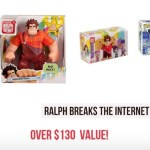 Ralph Breaks The Internet Blog Giveaway