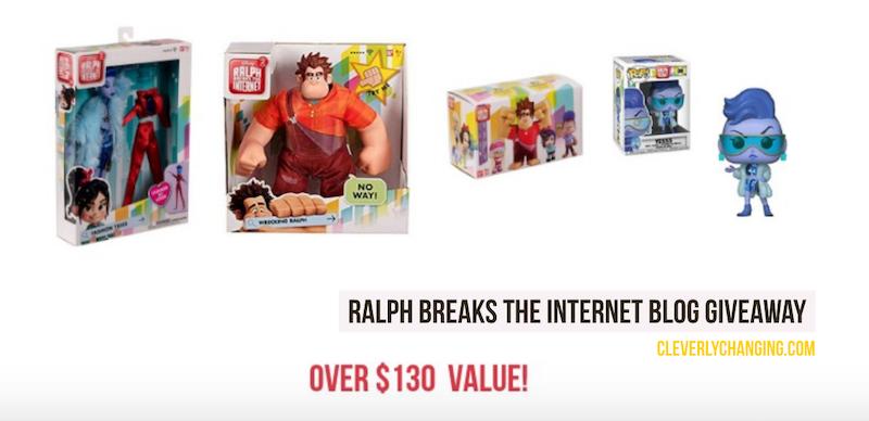 Ralph Breaks The Internet Blog Giveaway
