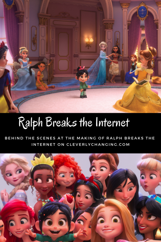 The Princess Scene in Ralph Breaks the Internet