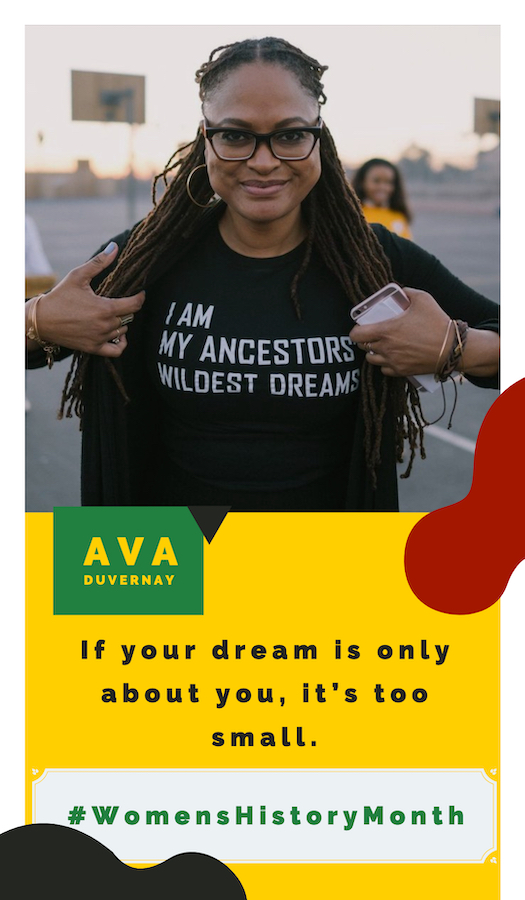 Living African American Women Who Inspire Ava Duvernay
