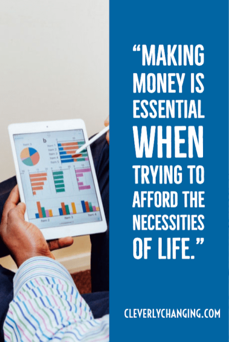 Finance Friday - Making money is essential when trying to afford the neccessities of life