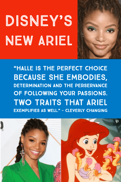 Halle Bailey is Disney's new Ariel