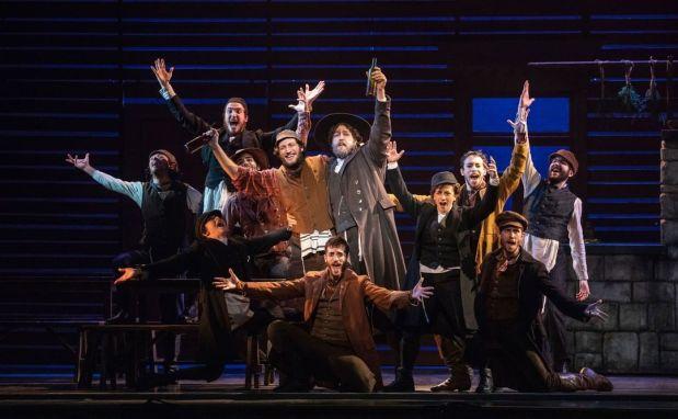 Fiddler on Broadway Live Performance