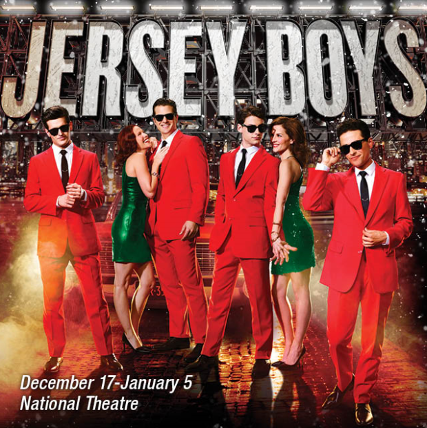 jersey boys at the National Theater in Washington, DC