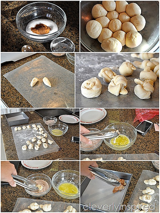 easy cinnamon knots recipe @cleverlyinspired (7)